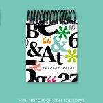 Big Letters Mini Notebook