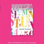 Chalk Letters Mini Notebook
