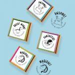 Fantastic 4-pack Stamps