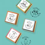 Woody Friends 4-pack Stamps