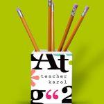 Big Letters Pencil Holder