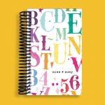 Chalk Letters Pocket Notebook