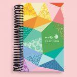 Geometric Colors Pocket Notebook