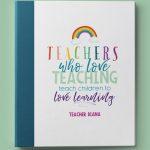 Love Rainbows Binder