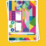 Shapes Stickers para Planner
