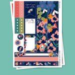 Butterflies Stickers para Planner