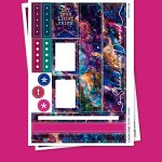 Color Stone Stickers para Planner