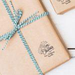 Mistletoe pattern stamp
