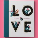 Lovely Bird Wedding 3- Ring Binder