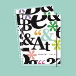 Big Letters Pastas intercambiables