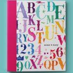 Chalk Letters Binder
