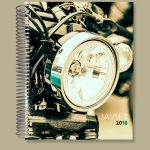 Motorcycle Business Notebook