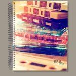 Retro Music Business Notebook