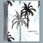 Sketch Palms Business Notebook