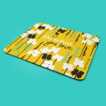 Yellow Field Mouse Pad